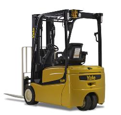 Pneumatic Tire Electric Forklift Rental