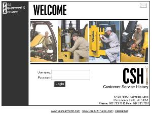YES Lift Truck Maintenance Reporting System